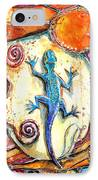 Gecko IPhone Case by Patricia Allingham Carlson