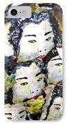 Geisha Girls IPhone Case
