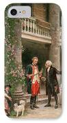 George Washington At Bartrams Garden IPhone Case