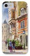 Germany Baden-baden Lange Str IPhone Case