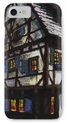 Germany Ulm Fischer Viertel Schwor-haus IPhone Case by Yuriy  Shevchuk