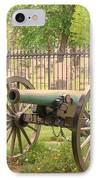 Gettysburg Cannon Cemetery Hill IPhone Case