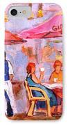 Gibbys Cafe IPhone Case