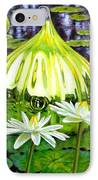 Glass Among The Lilies IPhone Case