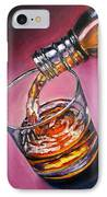 Glass Of Wine Original Oil Painting IPhone Case