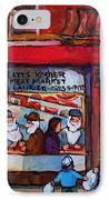 Glatts Kosher Meatmarket And Tailor Shop IPhone Case