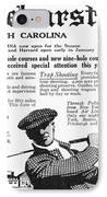 Golf: Pinehurst, 1916 IPhone Case