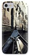 gondola - Venice IPhone Case by Joana Kruse