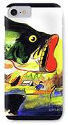 Gone Fishing IPhone Case by Linda Simon