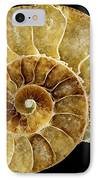Goniatite Fossil IPhone Case by Pasieka