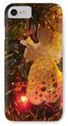 Grandmas Christmas Angel IPhone Case