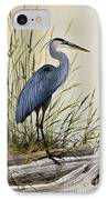 Great Blue Heron Splendor IPhone Case