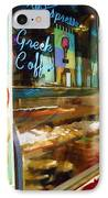 Greek Coffee IPhone Case