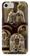 Greek Orthodox Church Icons IPhone Case by David Smith