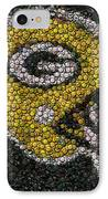 Green Bay Packers Bottle Cap Mosaic IPhone Case
