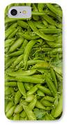 Green Beans IPhone Case by Thomas Marchessault