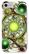Green Jewelry IPhone Case