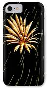 Green Streaks IPhone Case by Phill Doherty