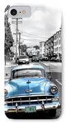 Green Street IPhone Case by Julie Gebhardt