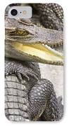 Group Of Crocodiles IPhone Case