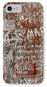 Grunge Background IPhone Case by Carlos Caetano