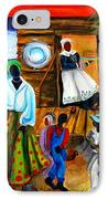 Gullah Christmas IPhone Case by Diane Britton Dunham