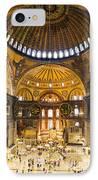 Hagia Sophia Interior IPhone Case by Artur Bogacki