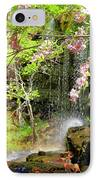 Haily Falls IPhone Case by Marty Koch