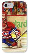 Halak Makes Another Save IPhone Case by Carole Spandau