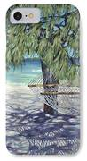 Hammock For Two IPhone Case by Danielle  Perry