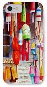 Hanging Around IPhone Case by Karen Fleschler