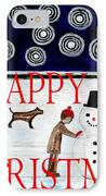 Happy Christmas 29 IPhone Case by Patrick J Murphy