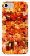 Happy Colors Abstract IPhone Case by Carol Groenen