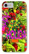 Happy Holidays 9 IPhone Case by Patrick J Murphy