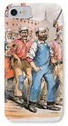 Harrison Cartoon, 1888 IPhone Case by Granger