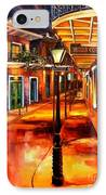 Harrys Corner New Orleans IPhone Case by Diane Millsap