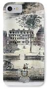 Harvard College, C1725 IPhone Case by Granger