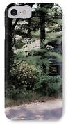 Haunted IPhone Case by Lauren Radke