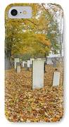 Hawke Meetinghouse - Danville New Hampshire IPhone Case