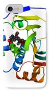 Heat Shock Protein 90 IPhone Case by Ted Kinsman