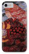 Heavenly Mother And Child IPhone Case by Dede Shamel Davalos