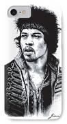 Hendrix No.02 IPhone Case by Caio Caldas