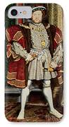 Henry Viii IPhone Case