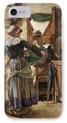 Her First Born IPhone Case by Walter Langley