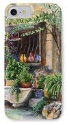 Hidden Courtyard IPhone Case