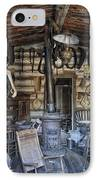Historic Saddlery Shop - Montana Territory IPhone Case by Daniel Hagerman