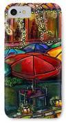 Holiday Riverwalk IPhone Case by Patti Schermerhorn