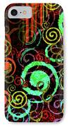 Hoopla IPhone Case by Bonnie Bruno