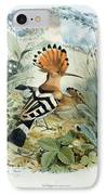 Hoopoe IPhone Case by Edouard Travies