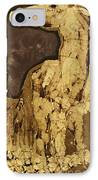Horse Above Stones IPhone Case by Carol  Law Conklin